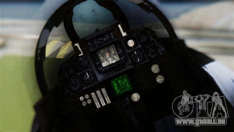 F-14A Tomcat VF-21 Freelancers für GTA San Andreas Rückansicht