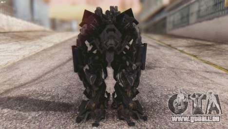 Ironhide Skin from Transformers v3 pour GTA San Andreas deuxième écran