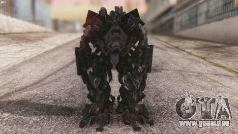 Ironhide Skin from Transformers v3 für GTA San Andreas zweiten Screenshot