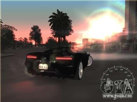 Einfach Tacho für GTA San Andreas