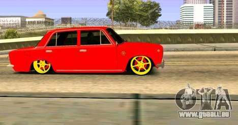 VAZ 2101 MU pour GTA San Andreas vue de droite