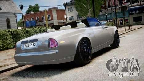 Rolls-Royce Phantom Coupe 2009 pour GTA 4 est une gauche