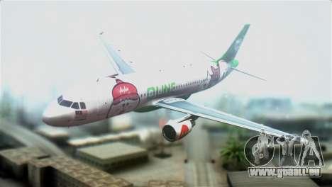 Airbus A320-200 AirAsia Line für GTA San Andreas