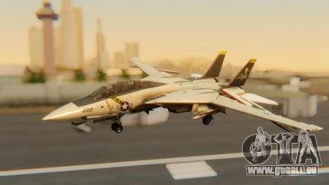 F-14A Tomcat VF-202 Superheats pour GTA San Andreas vue intérieure