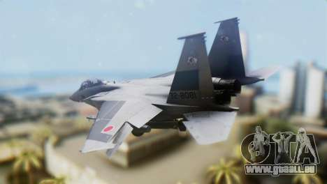 F-22J Japan Air-Self Defense Force für GTA San Andreas linke Ansicht