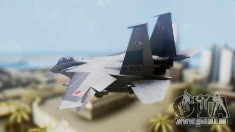 F-22J Japan Air-Self Defense Force pour GTA San Andreas laissé vue
