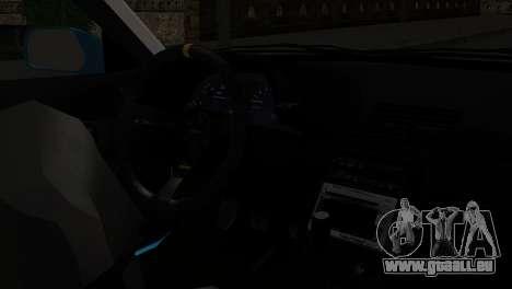 Nissan Skyline R32 Camo Drift pour GTA San Andreas vue de droite