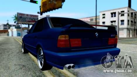BMW M5 E34 Gradient pour GTA San Andreas laissé vue