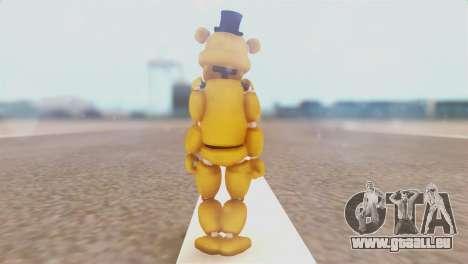 Golden Freddy v2 für GTA San Andreas dritten Screenshot