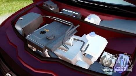 Volkswagen Passat B5 1.8 ADR pour GTA San Andreas vue arrière