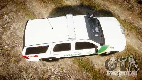 Chevrolet Tahoe Niagara Falls Parks Police [ELS] für GTA 4 rechte Ansicht