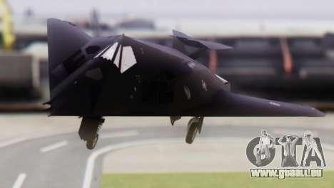 Lockheed F-117 Nighthawk ACAH für GTA San Andreas Rückansicht