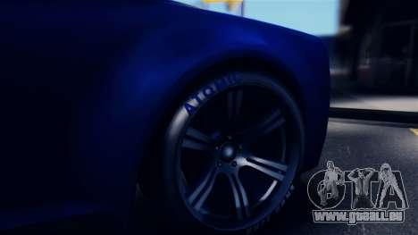 GTA 5 Enus Windsor IVF pour GTA San Andreas vue arrière