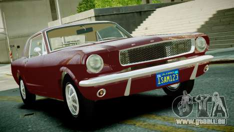 Ford Mustang 1965 pour GTA 4