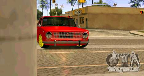 VAZ 2101 MU pour GTA San Andreas laissé vue
