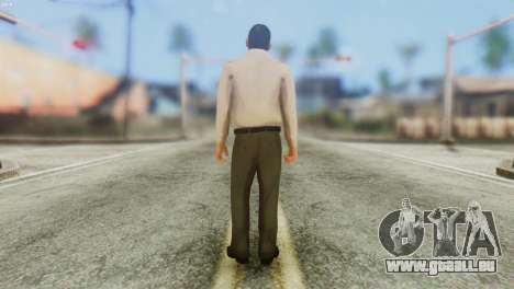 GTA 5 Skin 4 pour GTA San Andreas deuxième écran