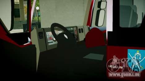 Renault Midlum 300.14 dXi Firetruck für GTA 4 Rückansicht