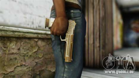 Desert Eagle Skin from GTA 5 für GTA San Andreas dritten Screenshot