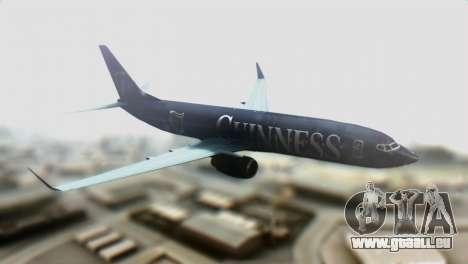 Boeing 737-800 Ryanair Guinness für GTA San Andreas