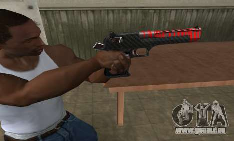 Red Tiger Deagle für GTA San Andreas