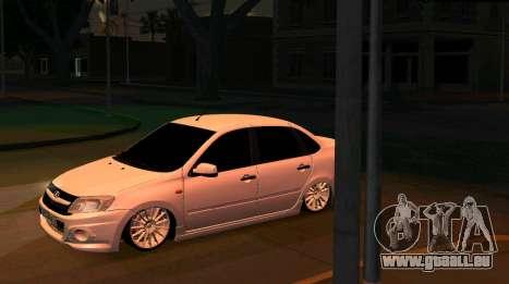 VAZ 2190 Sport pour GTA San Andreas sur la vue arrière gauche