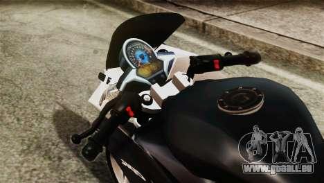 Honda CBR250R pour GTA San Andreas vue de droite