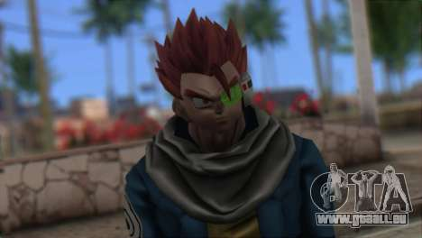 Dragon Ball Xenoverse Mysterious Warrior für GTA San Andreas dritten Screenshot