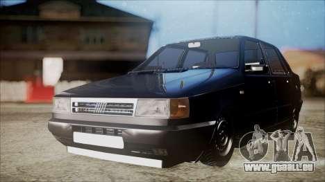 Fiat Duna Al Piso pour GTA San Andreas sur la vue arrière gauche
