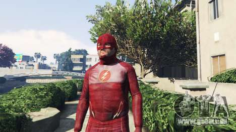 GTA 5 Die Flash-Kostüm zweite Screenshot