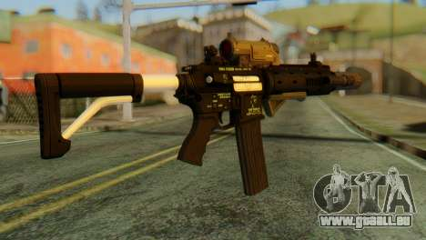 Carbine Rifle from GTA 5 v2 für GTA San Andreas zweiten Screenshot