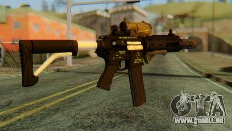 Carbine Rifle from GTA 5 v2 für GTA San Andreas zweiten Screenshot