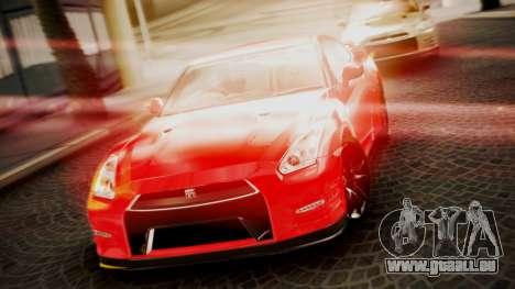 Nissan GT-R 2015 für GTA San Andreas