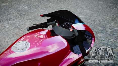 Bike Bati 2 HD Skin 3 für GTA 4 rechte Ansicht