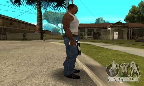 Two Lines Deagle pour GTA San Andreas deuxième écran