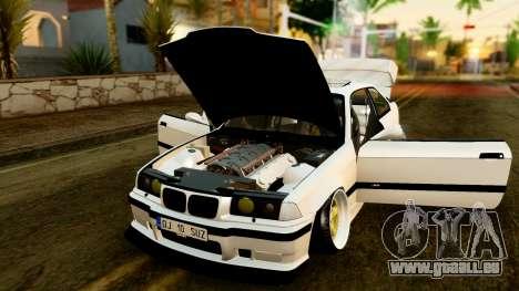 BMW M3 E36 Stance für GTA San Andreas Rückansicht