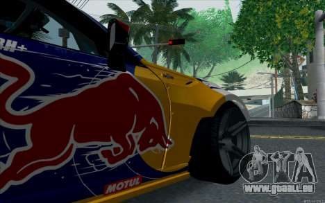 Toyota GT86 Red Bull für GTA San Andreas Rückansicht