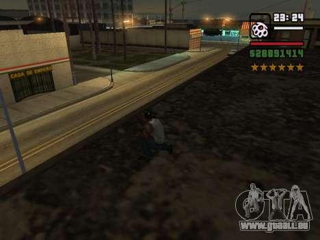 Real Cops pour GTA San Andreas deuxième écran