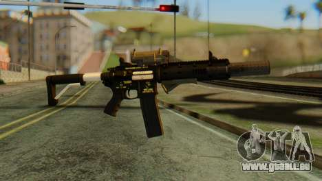 Carbine Rifle from GTA 5 v2 pour GTA San Andreas
