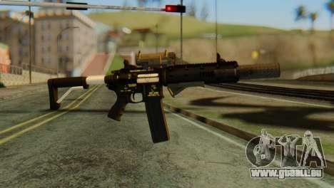 Carbine Rifle from GTA 5 v2 für GTA San Andreas