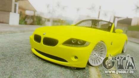 BMW Z4 Construction Ens pour GTA San Andreas