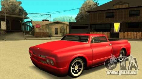 Slamvan Final für GTA San Andreas Innen