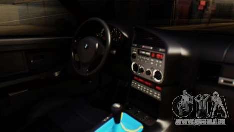 BMW 320i pour GTA San Andreas vue de droite