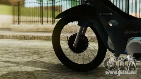 Honda Wave Stunt für GTA San Andreas zurück linke Ansicht