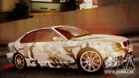 BMW M3 E46 v2 für GTA San Andreas Innen