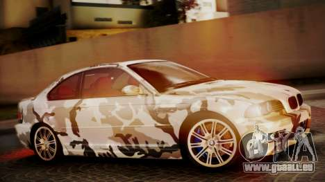 BMW M3 E46 v2 pour GTA San Andreas salon