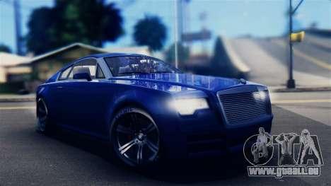 GTA 5 Enus Windsor IVF für GTA San Andreas