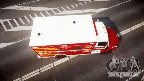 Freightliner M2 2014 Ambulance [ELS] für GTA 4 rechte Ansicht
