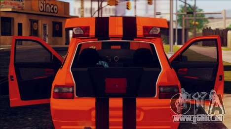 VAZ 2112 Turbo für GTA San Andreas rechten Ansicht