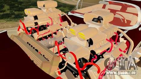 Gigahorse from Mad Max Fury Road für GTA San Andreas rechten Ansicht