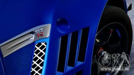 Nissan GT-R (R35) GT3 2012 PJ2 pour GTA San Andreas vue de droite